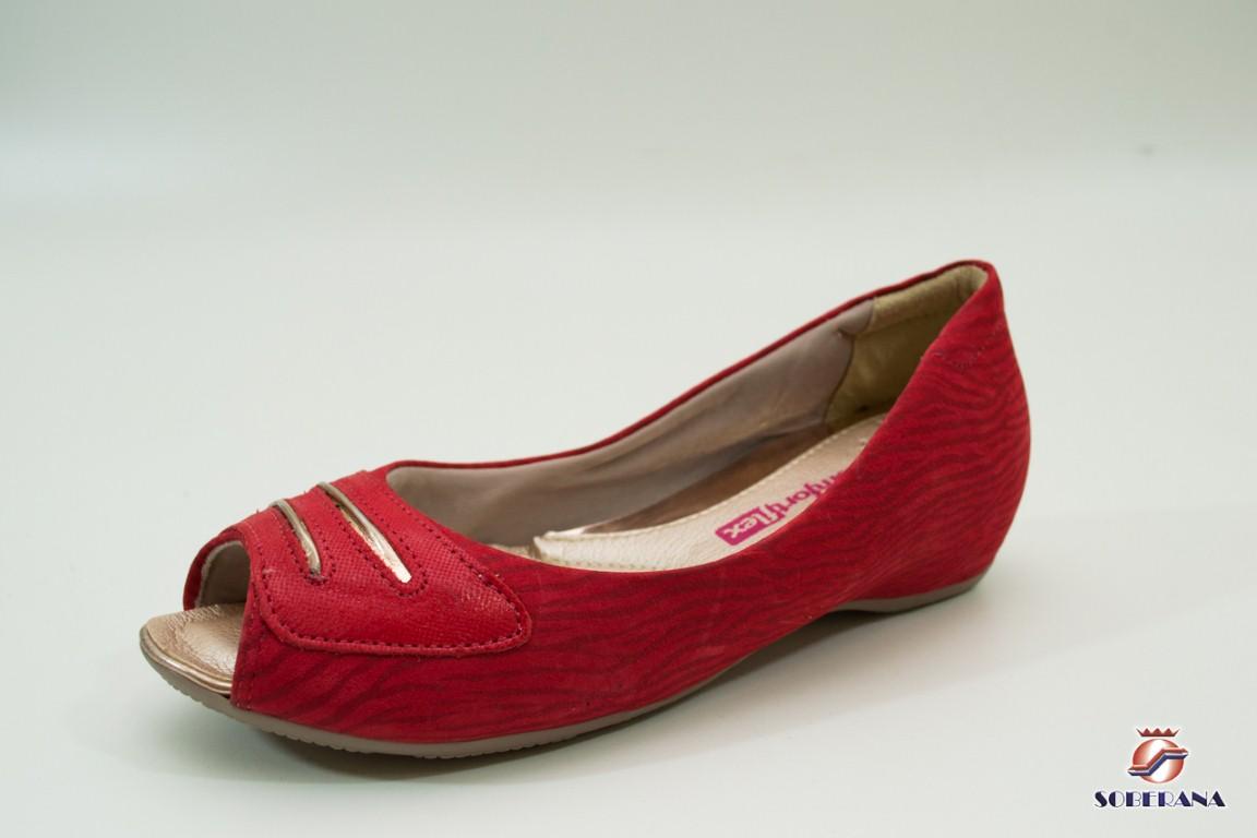 106f9b420 Sapatilha Comfortflex Vermelha - Artigos Femininos - Lojas Soberana