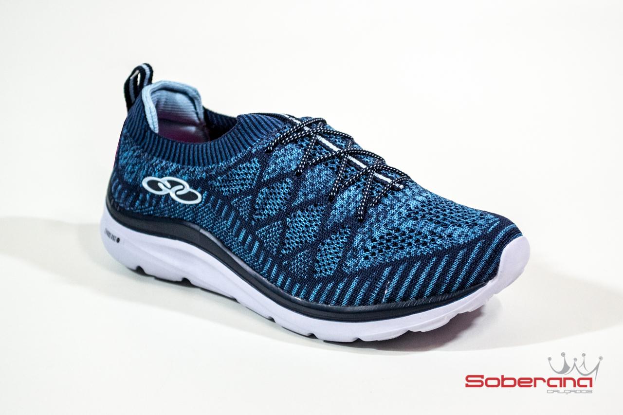 86cb395b08 Tênis Olympikus Secret Feminino - Azul Claro e Marinho (2) - Artigos ...